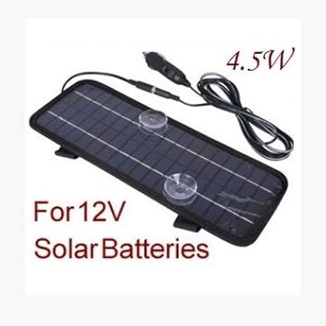 YYANG Cargador De Batería Solar para Coche La Placa Base De ...