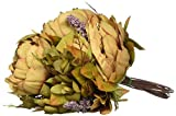 #8: Luyue Vintage Artificial Peony Silk Flowers Bouquet Home Wedding Decoration