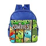 Plants VS Zombies Peashooter Kids School Backpack Bag