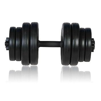 Xingshuoonline - Mancuernas para Gimnasio, Fitness, Deportes, Entrenamiento de Pesas en casa, 1 x 15 kg: Amazon.es: Deportes y aire libre