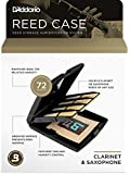 D'Addario Multi-Instrument Reed Storage Case with Humidity Control Pack for all Clarinets and Saxophones