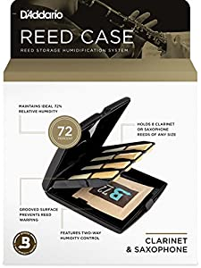 Rico Multi-Instrument Reed Storage Case with Humidity Control Pack for All Clarinets and Saxophones