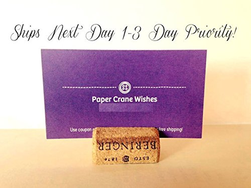 Set of 50, Wine Cork Place Card Holders, wedding parties, upcycled wine corks, wine cork crafts, escort cards