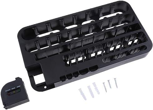 D DOLITY batería Caja para 72 AA, AAA y baterías y Pilas Caja para Proteger: Amazon.es: Electrónica