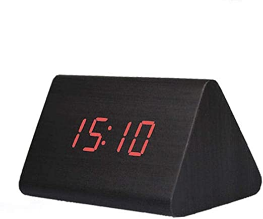 ZHANGKUN Reloj Alarma Digital del Reloj de Tabla de actualización ...
