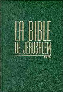 Bible de Jérusalem par Bible