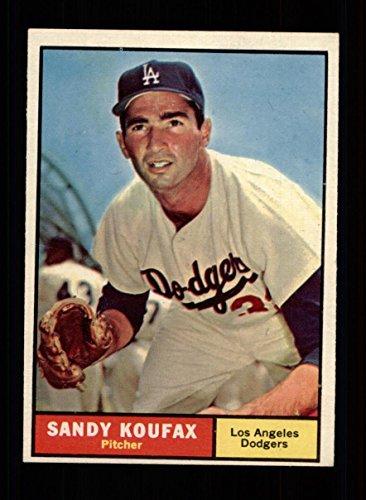 1961 Topps Baseball #344 Sandy Koufax (Dodgers) STARX 6 EX/MT (CS27133)