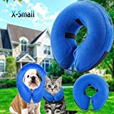 Inflatable Recovery-Collar Pillow for Dogs and Cats Comfy-Cone Don't Block Vision Pet-Accessories (X-Small)