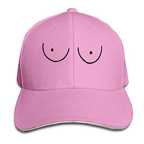 Grey Boobs Vintage Sandwich Cap Unisex Baseball Hat
