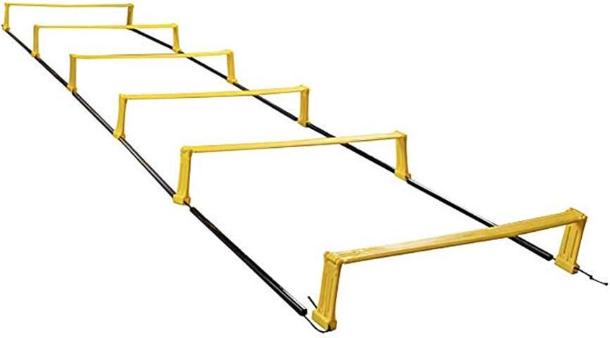 QinnLiuu Escalera de Agilidad de Doble propósito, Juego de ...