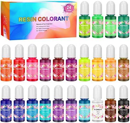 Gifort 24 Colores Resina Epoxi & UV Epoxi Colorante ...
