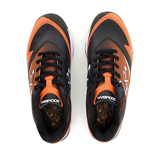 Boombah Mujeres A-game Molded Cleats - 15 Opciones De Color - Varios Tamaños Negro / Naranja
