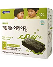 BeBecook Junior's First Sun-Dried Seaweed (Original), 1.5 Gram (Pack of 10)