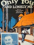 img - for Only You and Lonely Me Sheet Music with Ukulele arrangement, featuring Bert Dolin book / textbook / text book