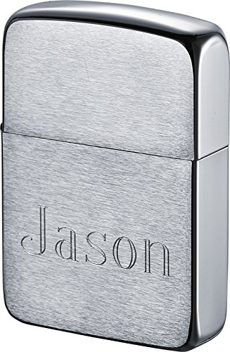 - Zippo Personalized 1941 Style Lighter with Engraving - Brushed Finish
