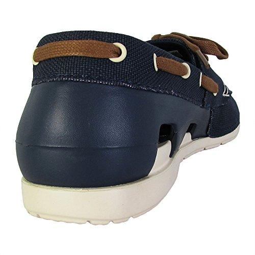 f7ede05cd crocs Men s Beach Line Lace-up Boat Shoe