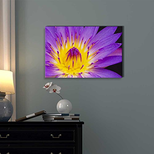 Beautiful Flower Floral Art Water Lily Wall Decor