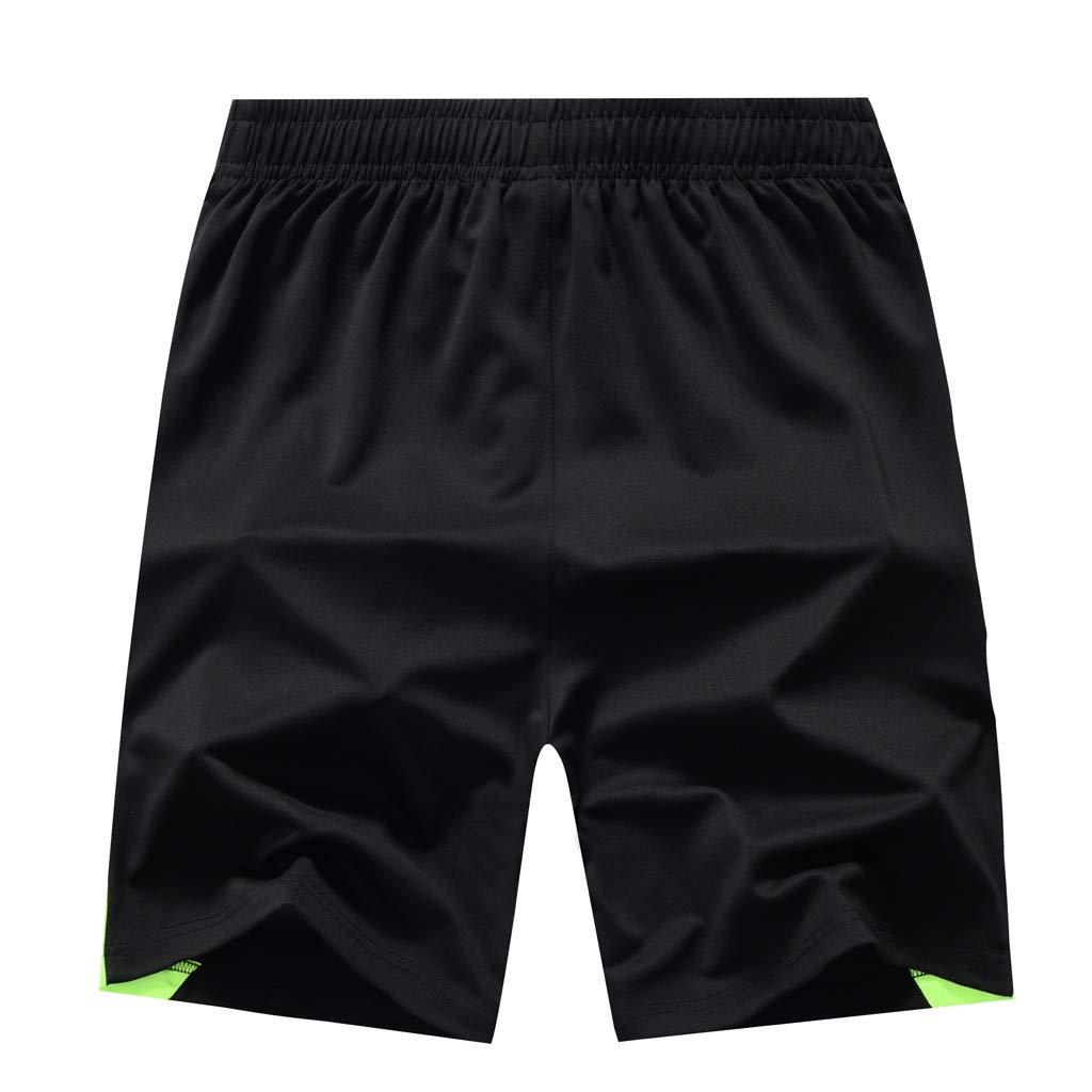 Landscap/_Men shorts Gym Workout Shorts Quick Dry Swim Shorts Beachwear Summer Holiday Swim Trunks