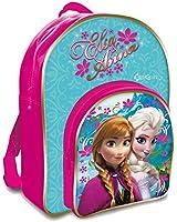 Disney Frozen Pink/Blue Backpack Elsa & Anna Nordic Floral