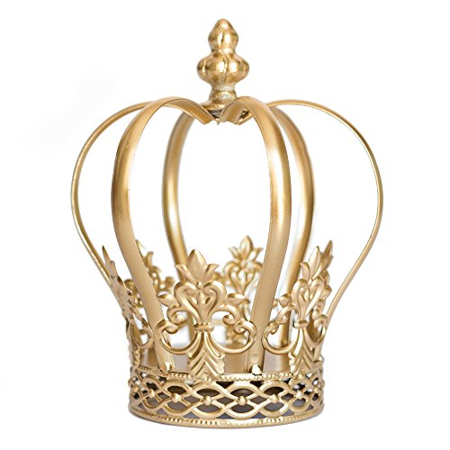 Gold Crown Cake Topper, Crown Centerpiece, Gold Wedding Cake Topper, Princess Cake, Harper