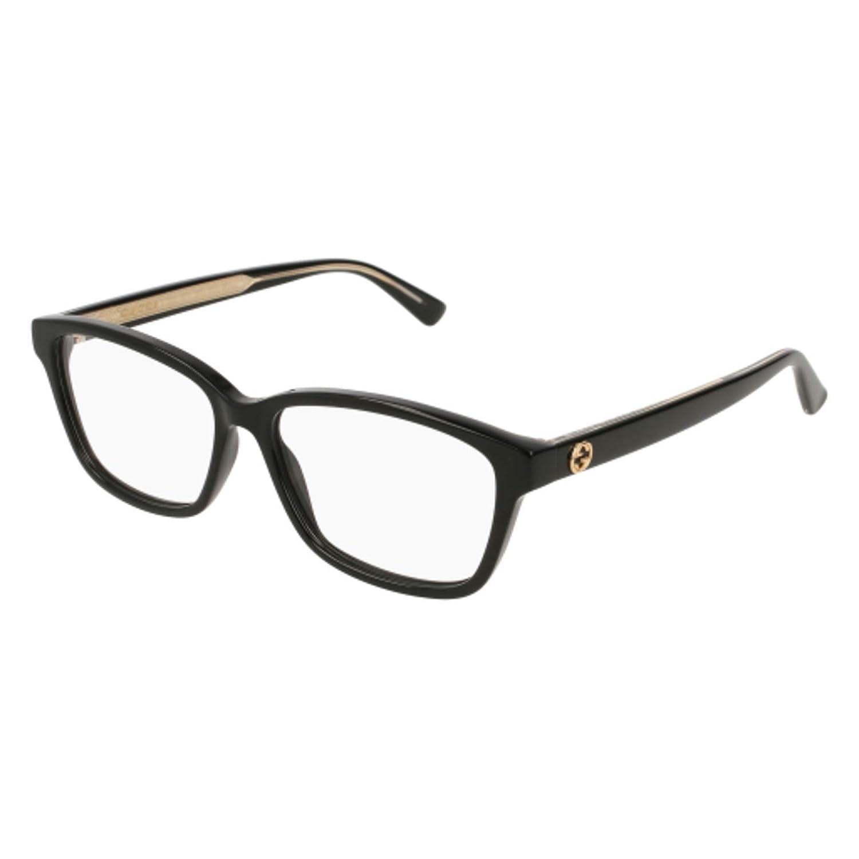 c96f9377cdce Amazon.com: Eyeglasses Gucci GG 0313 O- 001 BLACK /: Clothing