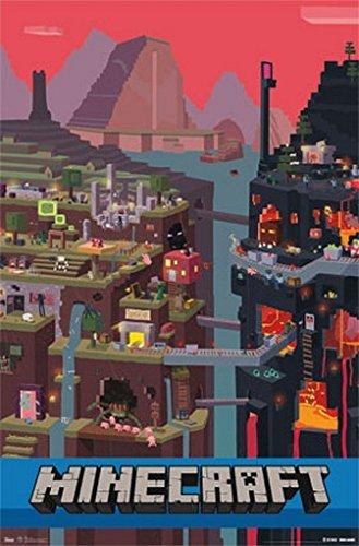 Amazon.com: Minecraft Póster Amazing Video Game imagen Rare ...