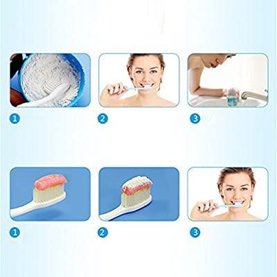 Silvercell Clean Teeth Dental Plaque Tartar Whitening Powder Decontamination Teeth Coffee Stains Oral Care