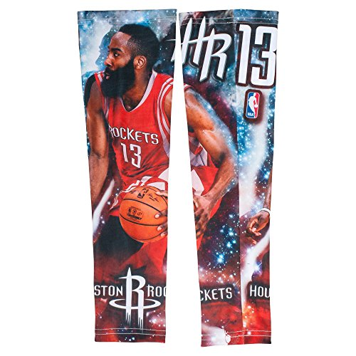 James Harden Houston Rockets Shooting Arm Sleeve Adult One Per Package by Socks and Accessory Brands