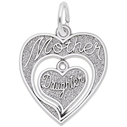 (Rembrandt Charms, Mother and Daughter.925 Sterling Silver)