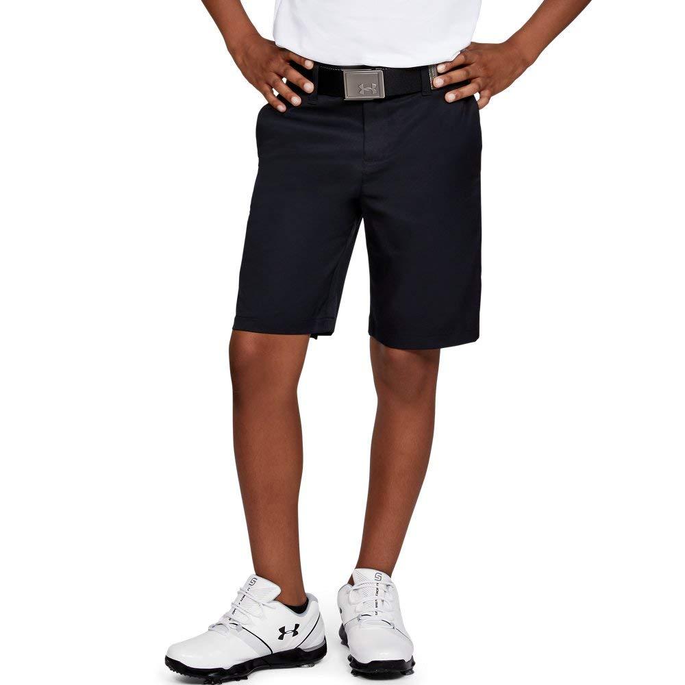 Under Armour boys Match Play 2.0 Golf Short, Black (001)/Black, 8