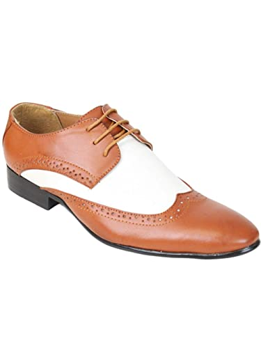 ed767dc7628a Kebello Chaussures Bi-Colore Homme Marron  Amazon.fr  Chaussures et Sacs