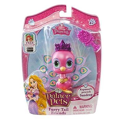 Disney Princess Palace Pets - Furry Tail Friends Doll - Rapunzel's Peacock, Sundrop: Toys & Games