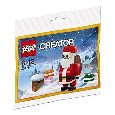 LEGO Creator 30478 Jolly Santa Christmas Polybagged 74 Piece Set: Toys & Games