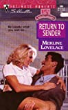 Return to Sender, Merline Lovelace, 0373078668