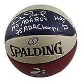 #3: Dan Issel Autographed Denver Nuggets ABA Basketball 3 INSC JSA