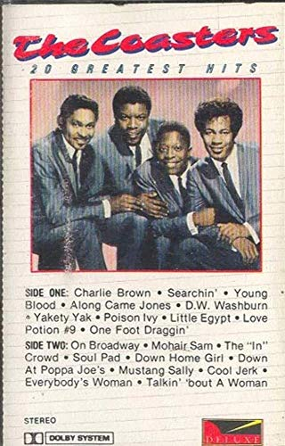 (THE COASTERS: Greatest Hits -29683 Cassette Tape )