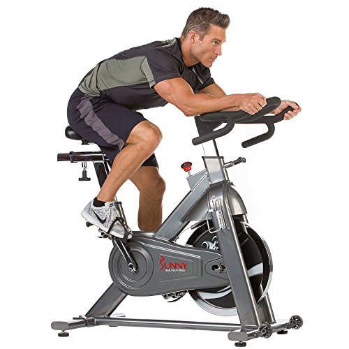 Heavy Duty Chain Drive Indoor Cycling Exercise Bike by Sunny Health & Fitness – SF-B1516