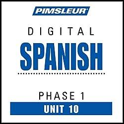 Spanish Phase 1, Unit 10