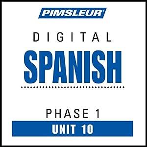 Spanish Phase 1, Unit 10 Audiobook