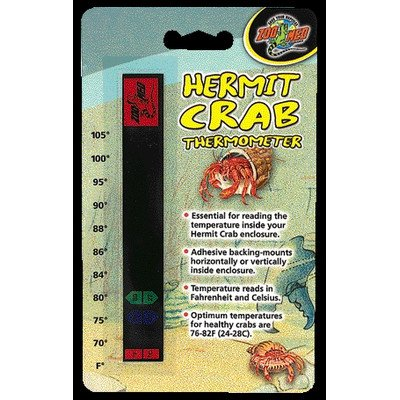 Hermit Crab Thermometer [Set of 4]