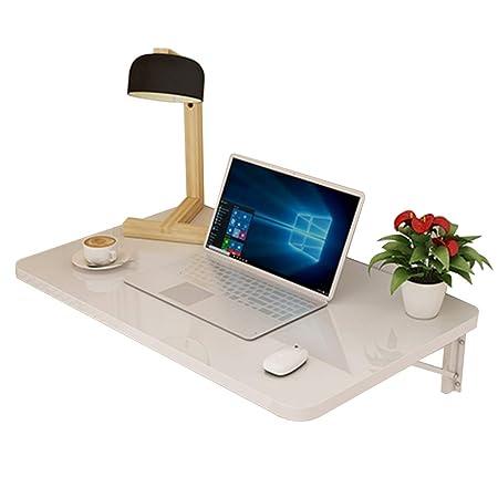 LVZAIXI Mesa de Ordenador portátil de Pared Plegable Mesa Plegable ...