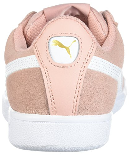 PUMA Frauen Vikky Sneaker Pfirsich Beige-Puma Weiß