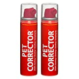 Pet Corrector – The Company of Animals – Bad Behavior and Training Aid - Quickly Stops Barking, Jumping, Digging, Chewing – Harmless and Safe- 50ml, Pack of 2