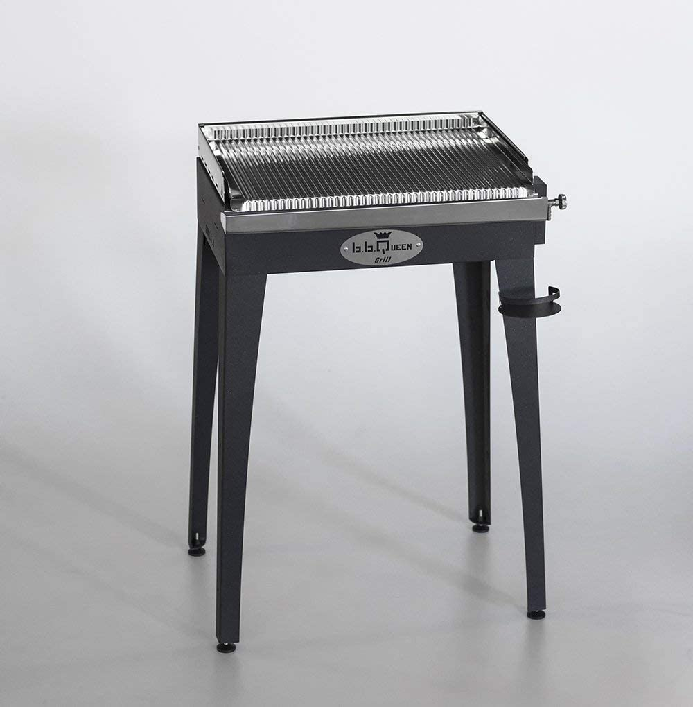 Barbecue à Gaz Inox BBQueen Grill 8,4 Plaque Inox (Barbecue