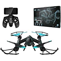 Gentman RC Quadcopter RC Drone Helicopter 2.4Ghz 6-Axis Gyro FPV Wifi with 2MP HD Camera Headless Mode Remote Control Toys Drone