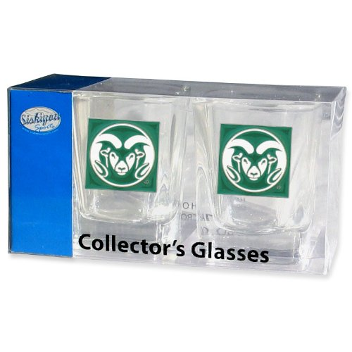 Rams Shot Glass Set (Ncaa Colorado State Rams Glass)