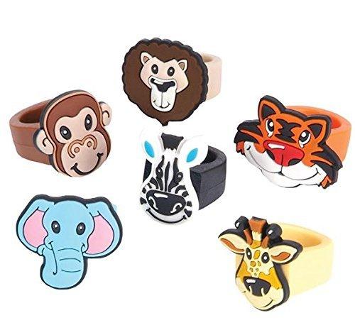 Cupcake Decorating Rings - Oasis Supply Zoo Animal Cupcake Decorating Rings - 24 piece set