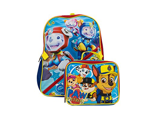 Nickelodeon Boys' Paw Patrol Lunch Backpack, Blue, One Size ()