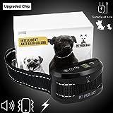 Intelligent Anti Bark Collar with beep, vibration and harmless shock with 7 sensitivity level no bark collar small dog medium dog large dog