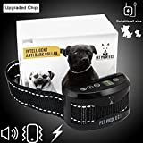 Intelligent Anti Bark Collar with beep, vibration and harmless shock with 7 sensitivity - Best Reviews Guide